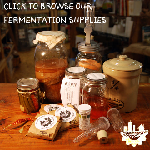 Browse Homestead Junction's Fabulous Fermentation Supplies!
