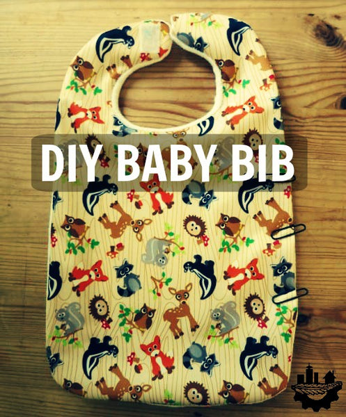 DIY baby bib: you can save money while having fun and being creative!