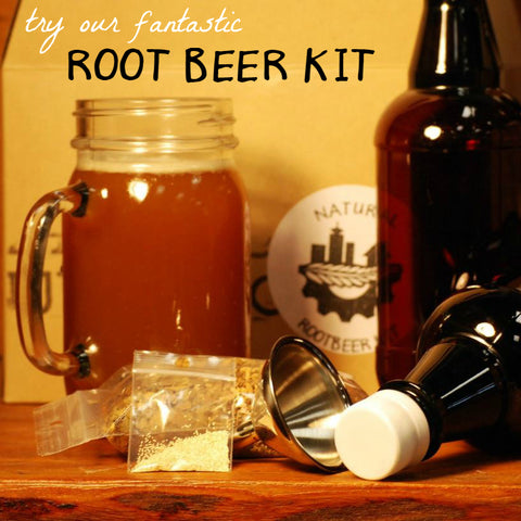 Creamy Delicious Fermented Root Beer Kit