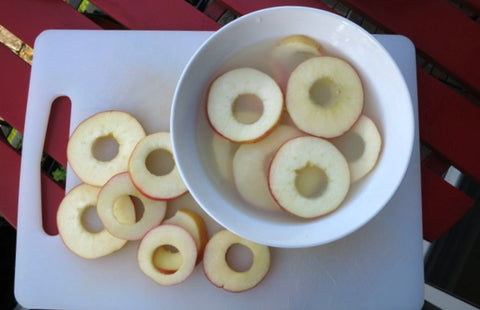 Apple Rings Soak