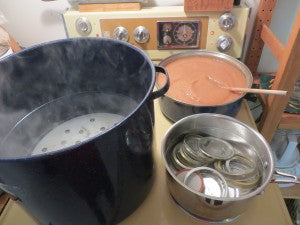 Preparing Water Bath For Canning