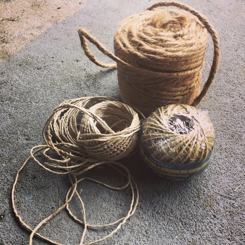 twine for burlap hanging baskets