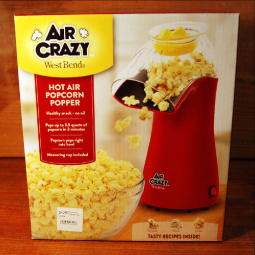Popcorn Popper by Air Crazy