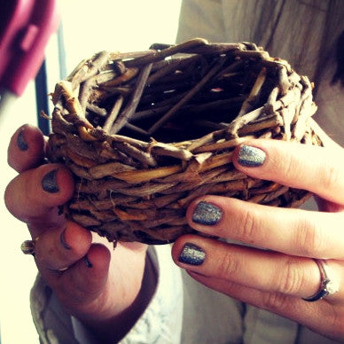 20170412 Intro to Basket Weaving