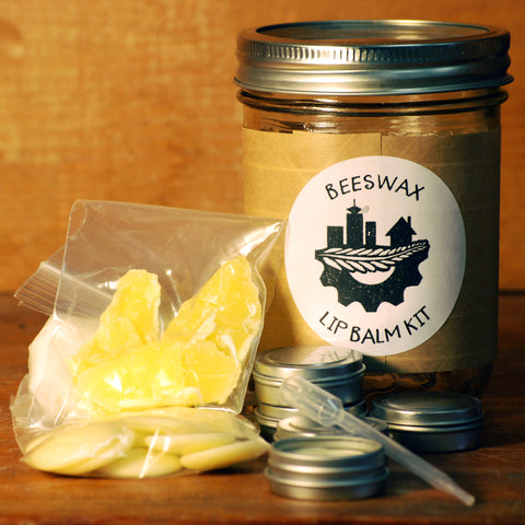 Beeswax Lip Balm Kit