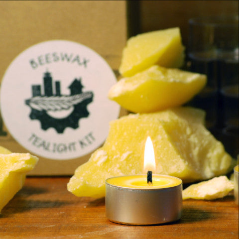 Beeswax Tealights Kit