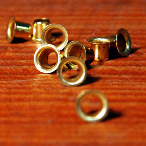 Frame Eyelet Brass single