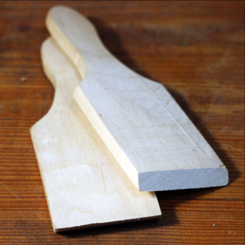 Wooden Butter Paddles -Pair