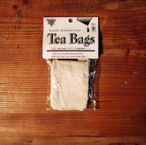 Cotton Tea or Spice Bag