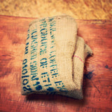 only the finest burlap coffee sacks