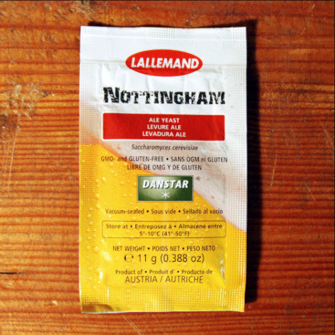 Nottingham Dry Ale Yeast - 11g