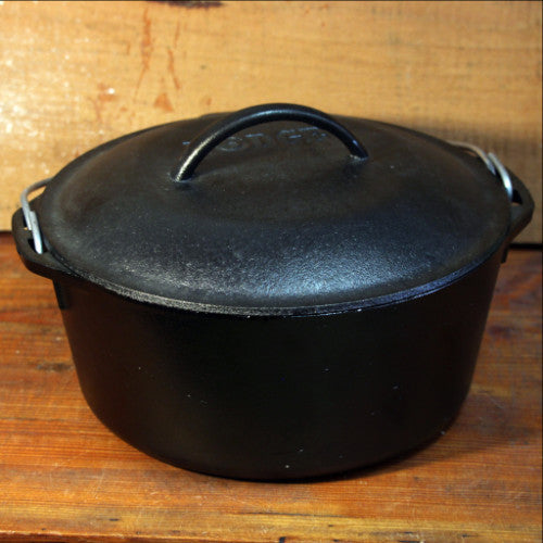 Cast Iron Dutch Oven by Lodge