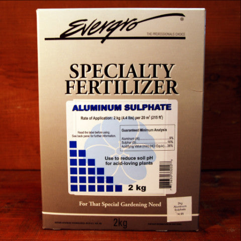 Aluminum Sulphate by Evergro 2kg
