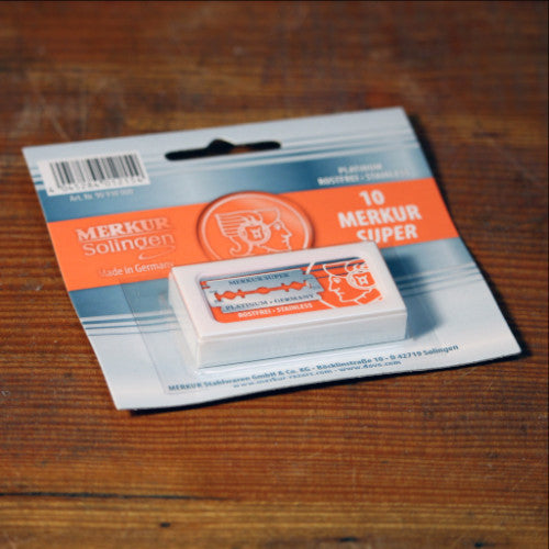 Razor Blades by Merkur - 10 Pack