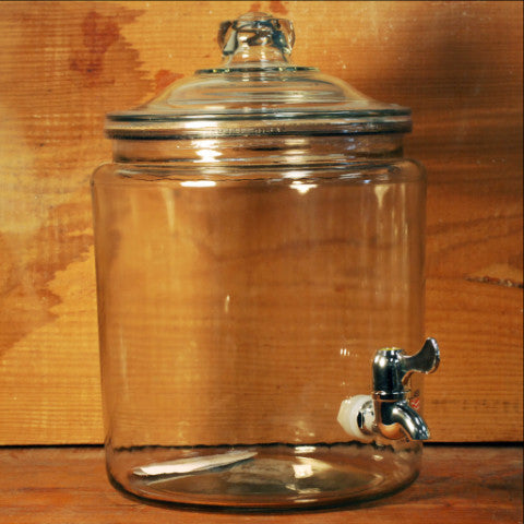 Glass Spigot Jar - 2 Gallon