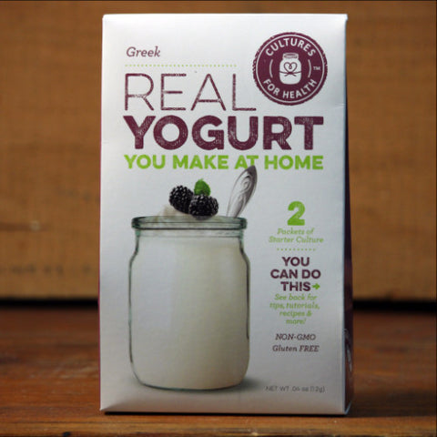 Greek Yogurt Starter by Cultures for Health
