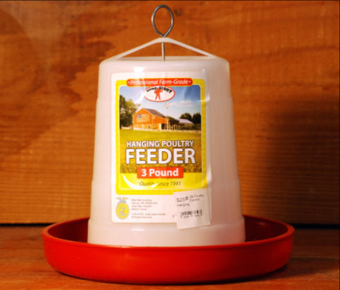 Hanging Poultry Feeder