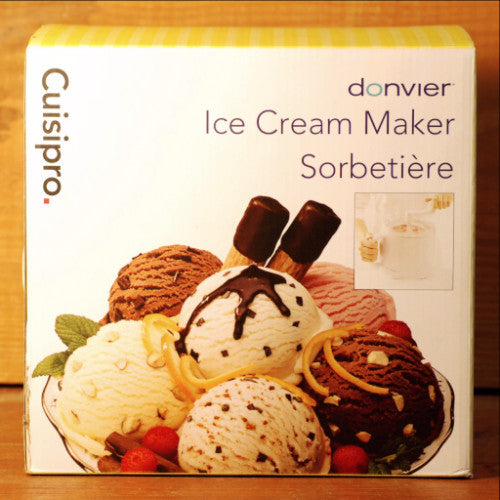 Ice Cream Maker by Donvier
