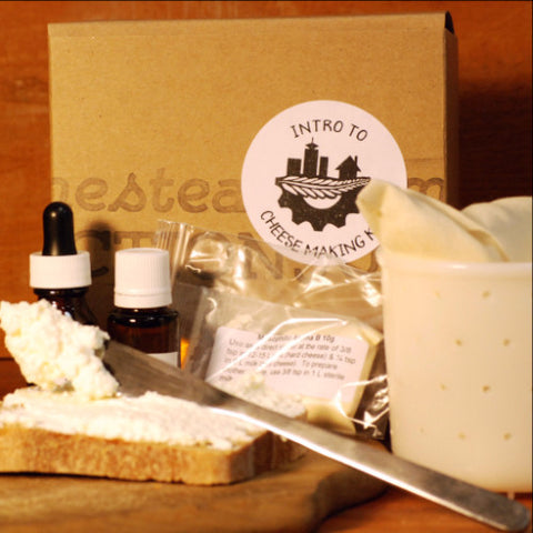 Intro To Cheese Making Kit