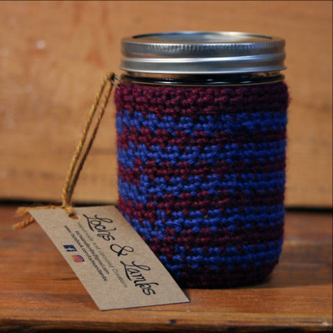 Crocheted Jar Cozy
