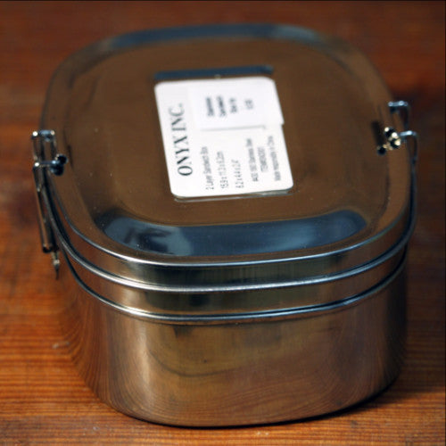 Stainless Sandwich Box by Onyx