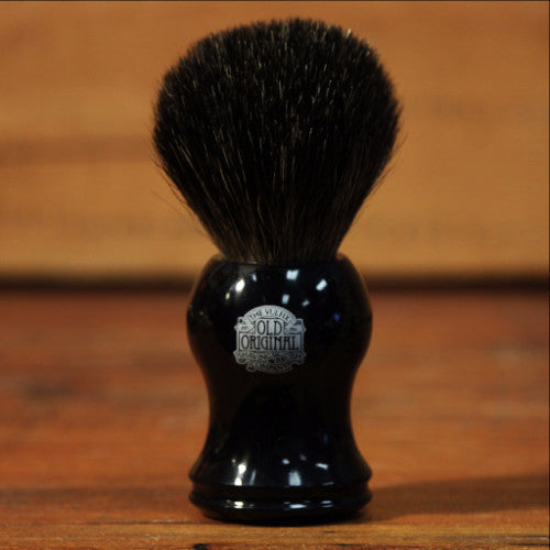 Shave Brush - Pure Badger with Black Handle