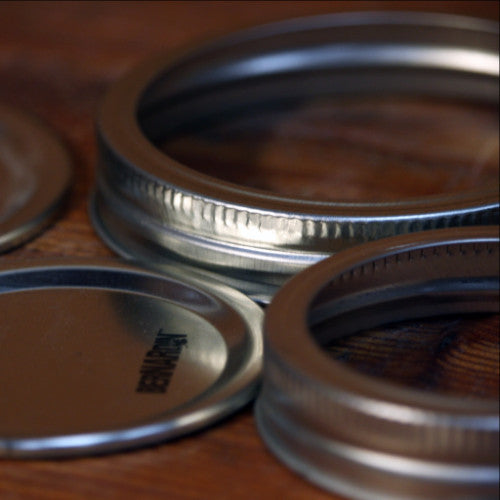 Mason Jar Snap Lids & Rings