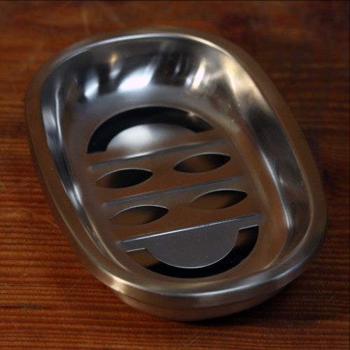 Stainless Steel Soap Dish - 2 Pieces