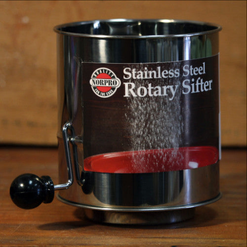 Rotary Flour Sifter 3 Cup