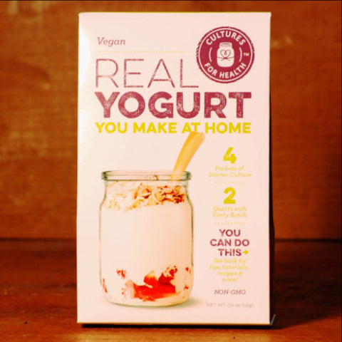 Vegan Yogurt Starter by Cultures for Health
