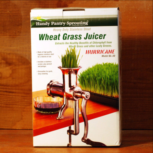 Hurricane Wheatgrass Juicer