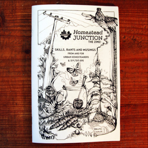 Homestead Junction: The Zine! Volume 1: Issue: 1