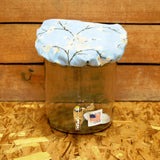 Fabric Jar Cover by Lochs & Lambs - large