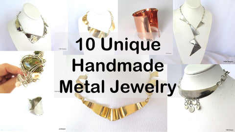 unique handmade metal jewelry