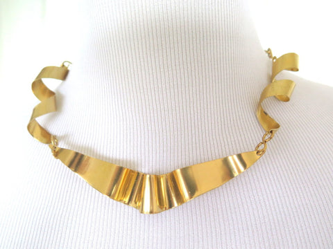 unique handmade metal jewelry, brass necklace