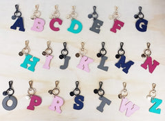 customised bag keyrings