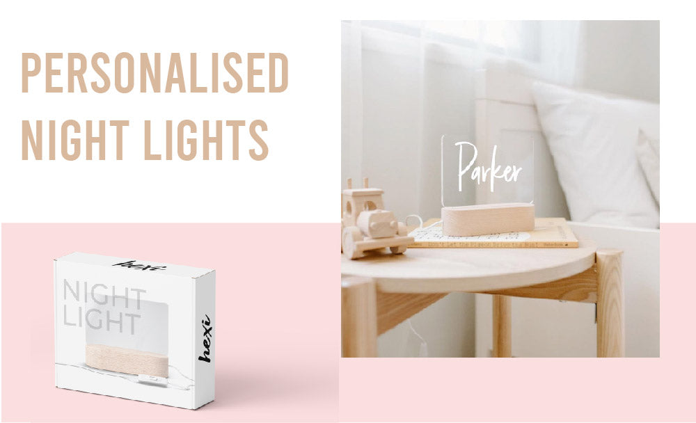 Personalised name light