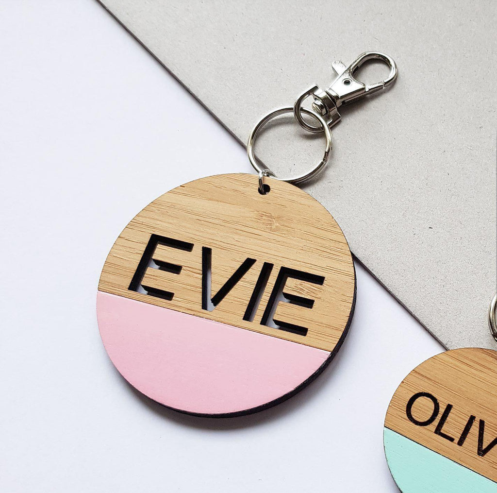 Custom Keyring or Bag tag