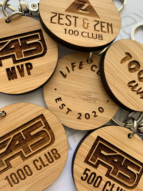 Promotional Custom Logo Keyrings