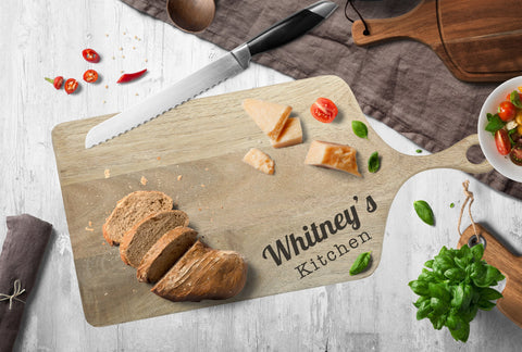"Personalised Chopping Platter Board ""Kitchen"""