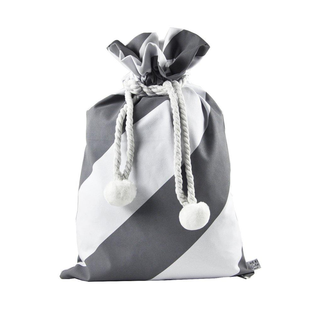 GREY Santa Sacks - Excess Stock - Ready to Ship