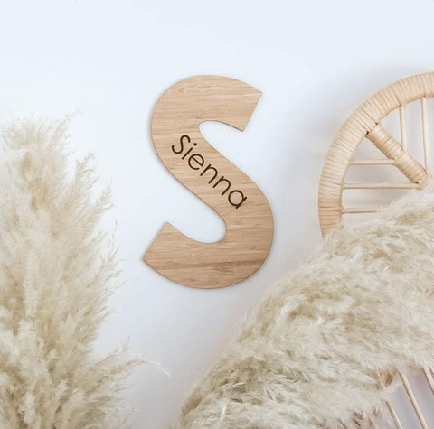 Bamboo Name Letter
