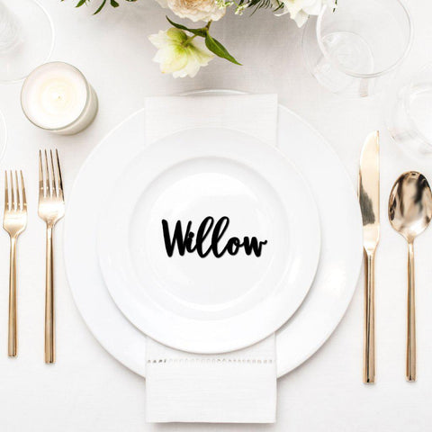 Mini Script Name Place Settings