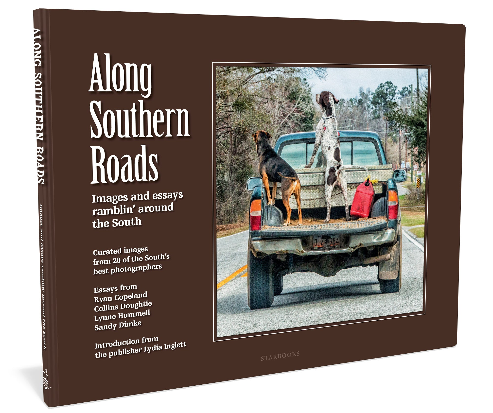 Along-Southern-Roads-Starbooks-Lydia-Inglett-Photography-Gift-Book-front-cover