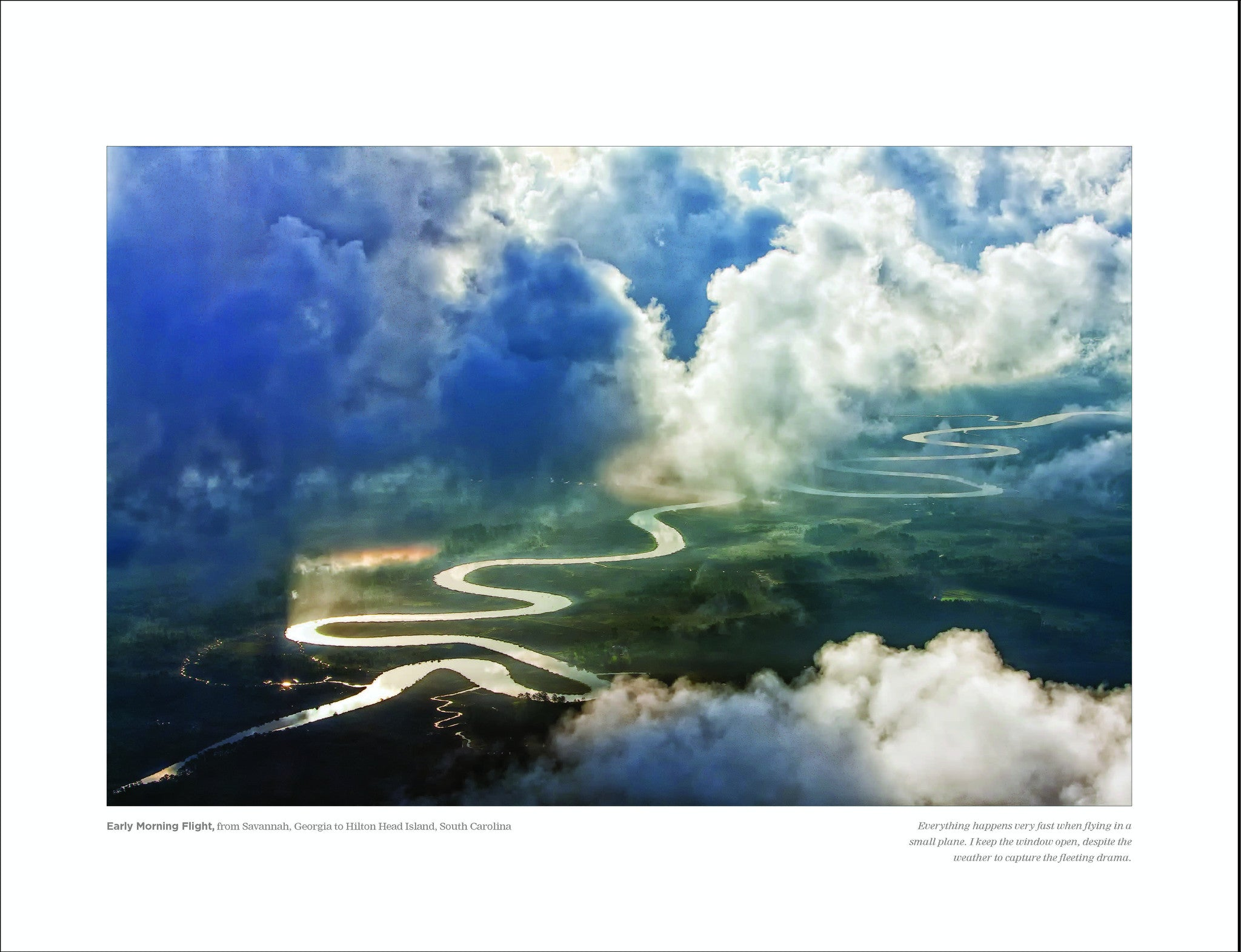 Early Morning Flight: Savannah to Hilton Head Eric Horan Beholding Nature Photography book