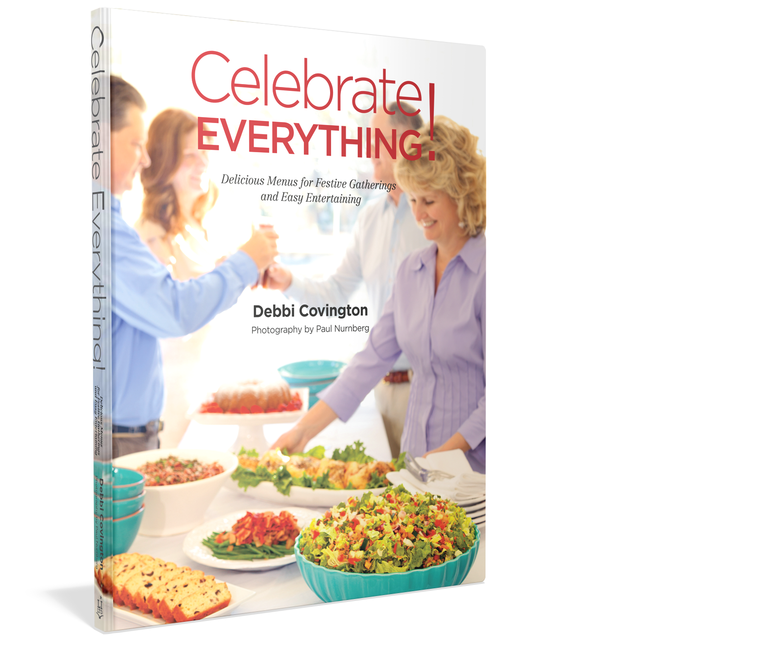 Award winning cookbook Celebrate Everything Author Debbie Covington of Beaufort Recipes and menus Starbooks