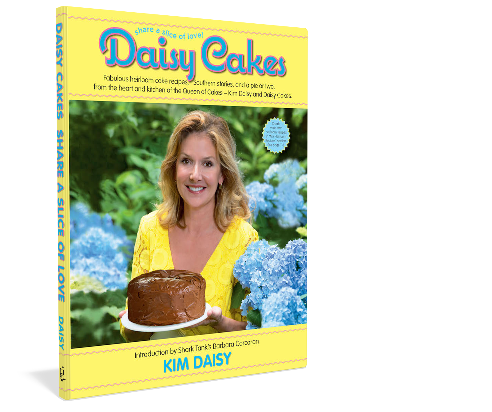 Cover: Daisy Cakes Cookbook Author Kim Daisy Starbooks