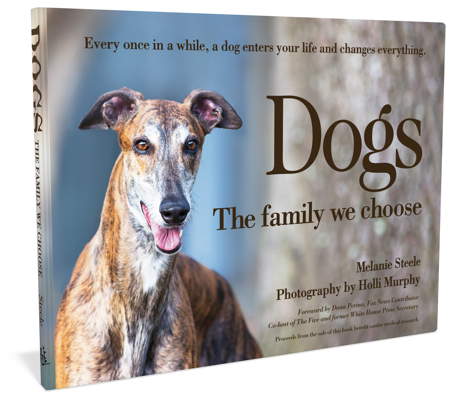 Cover: Dogs the Family We Choose photography book by Melanie Steele Holli Murphy Starbooks