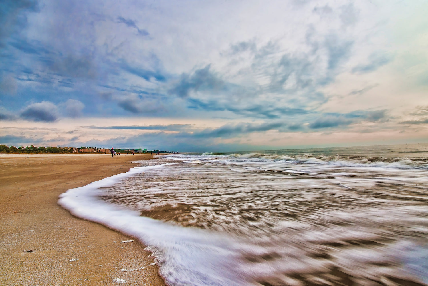 Breath taking beach and sea photograph from Hilton Head Island - Interactive Book. Published by Starbooks