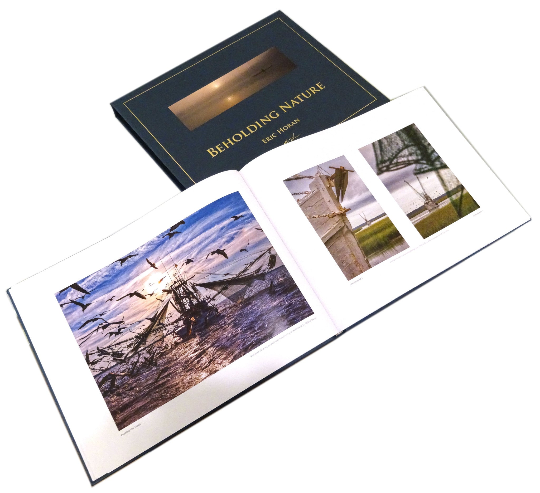 Collectors Edition Beholding Nature Photography book Eric Horan and Starbooks